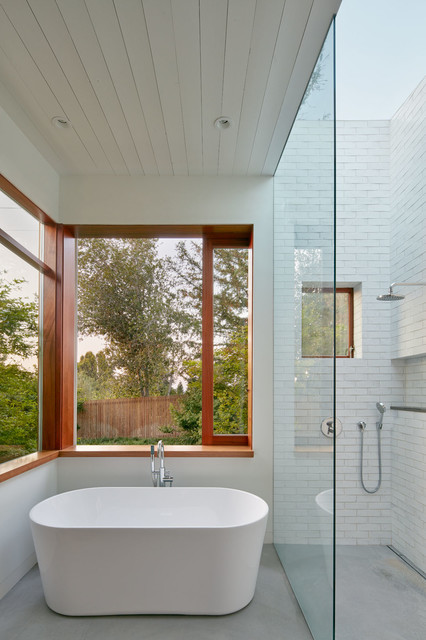 Silicon Valley contemporary-bathroom