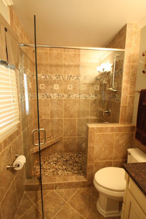Is this bathroom 5x8 thanks for Stand up shower ideas