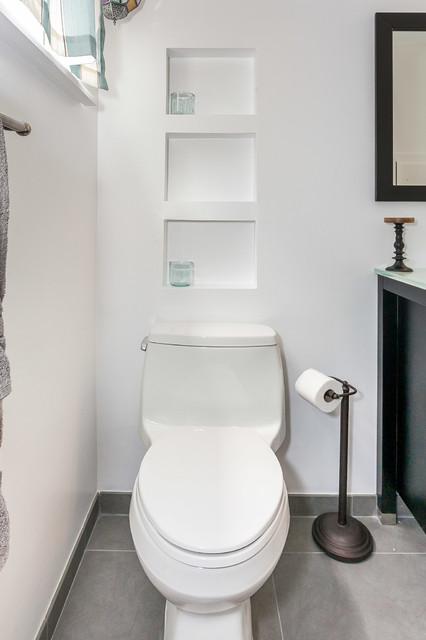 Simple And Elegant Bathroom Remodel Hartman
