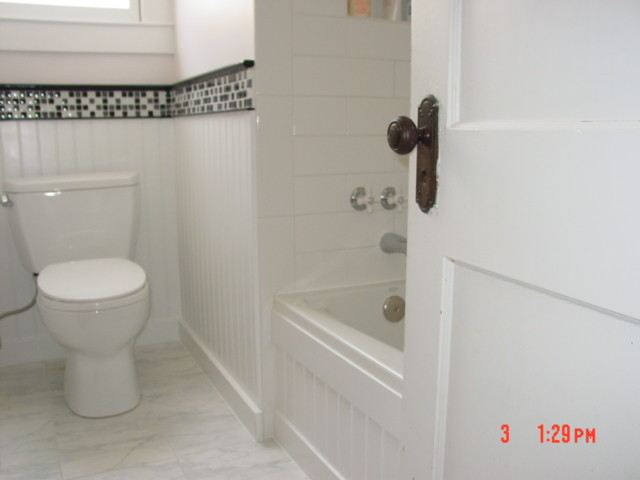 Simple bathroom remodel traditional-bathroom