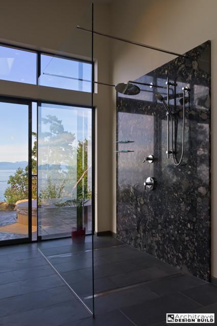Simple elegant contemporary bathroom vancouver for Simple but elegant bathroom designs