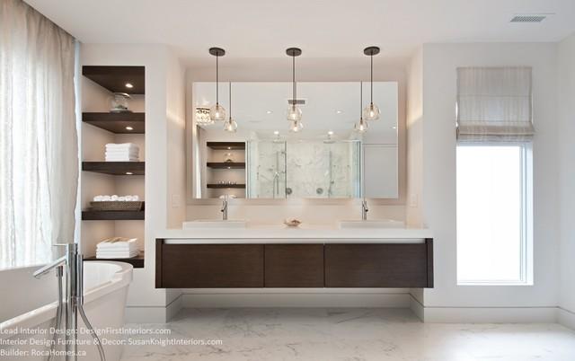 Simple Luxury Contemporary Bathroom Ottawa By
