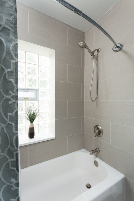 Bathroom Remodel Work Breakdown Structure : Simple master bathroom modern chicago by