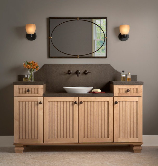 Simplistic Style Transitional Bathroom Orange County By Mid Continent Cabinetry