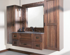 Simply Stunning Silverton Master Bath transitional
