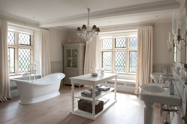 Badezimmer Landhausstil sims hilditch cotswold manor house