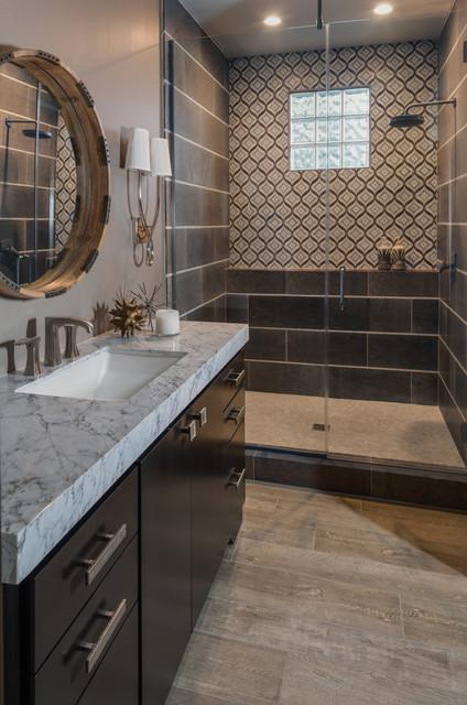 Skg designs project red rock west gate remodel for Bathroom gate design