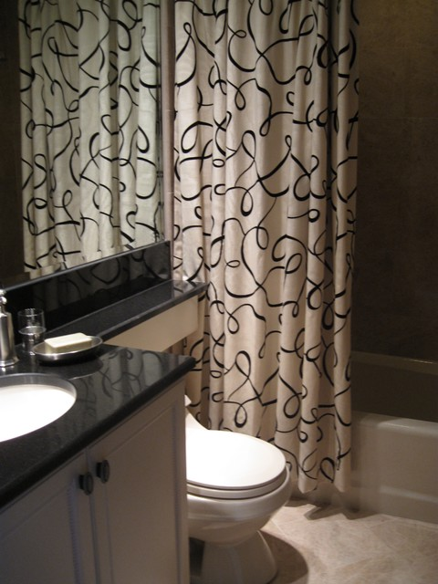 Ski Condominium traditional-bathroom