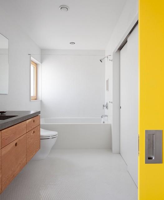 skidmore passivhaus - Contemporary - Bathroom - portland - by In Situ Architecture