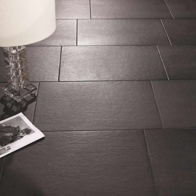 Slate Effect Floor Tiles Black Direct Tile Warehousefarmhouse Bathroom