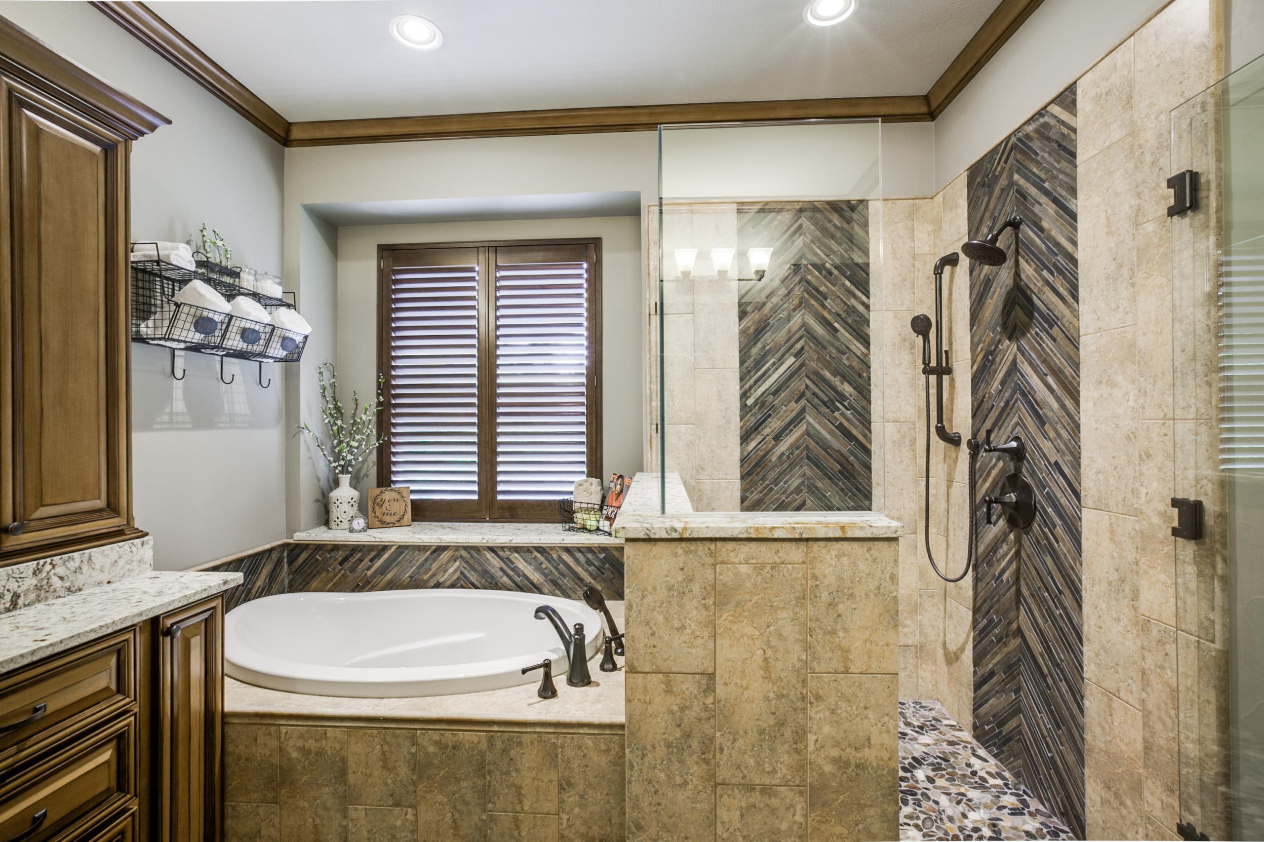 Slated Master Bath
