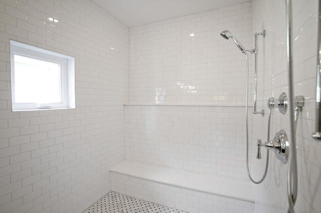 Sleek & Elegant - Transitional - Bathroom - Houston - by Steven Allen Designs, LLC