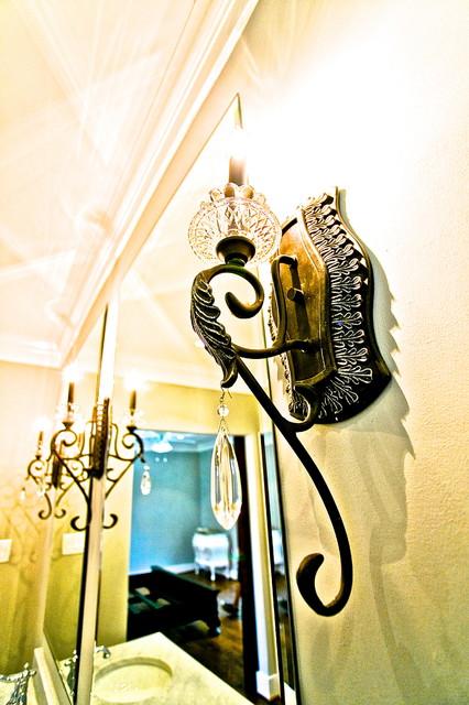 ... - Transitional - Bathroom - houston - by Steven Allen Designs, LLC