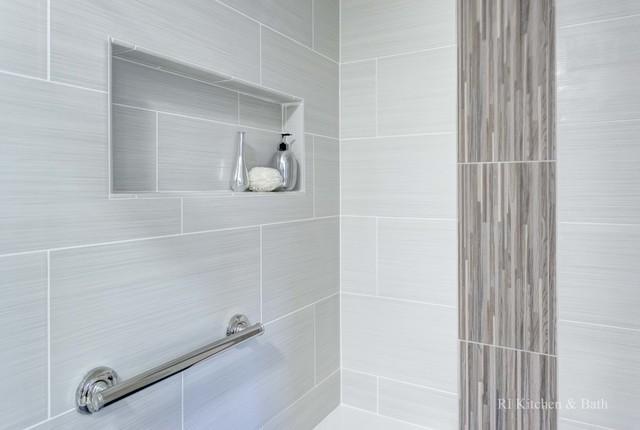 Sleek Bathroom Contemporary