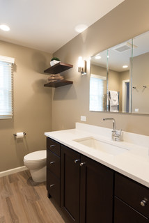Pleasure of pebbles chatham nj bathroom contemporary for Mocha bathroom ideas