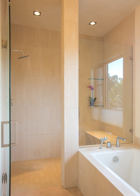 Sleek Spa Living Santa Fe Nm Asian Bathroom