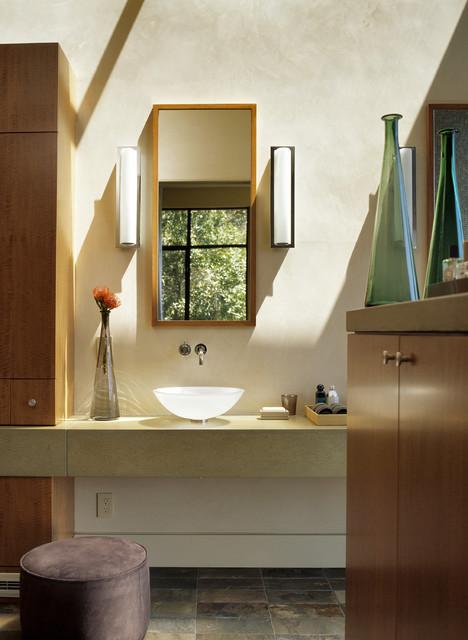 Sleepy Hollow Residence modern-bathroom