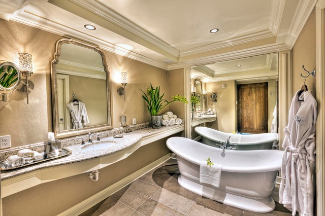Sliding Doors Traditional Bathroom Seattle By