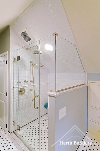 Image Result For Bathroom Knee Wall