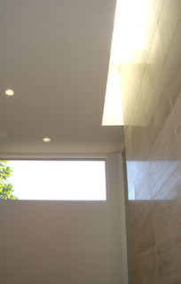 Slot skylight - Contemporary - Bathroom - phoenix - by PINNELLA KAHNG architecture studio LLC