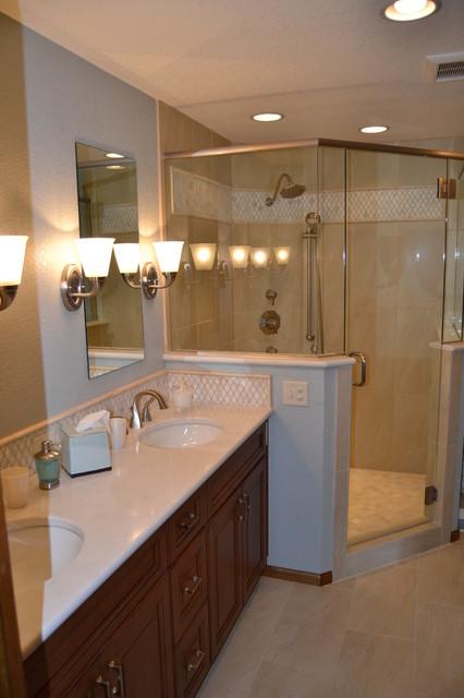Slutz bathroom remodel for Bath remodel denver