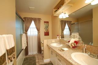 Small bath on a budget traditional bathroom boise for Bath remodel boise