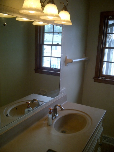 Small bath update traditional bathroom other by for Small bathroom updates