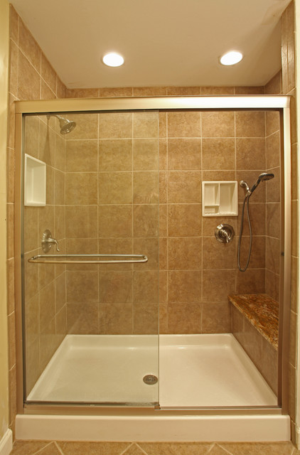 Small bathroom ideas traditional bathroom dc metro for Old tile bathroom ideas