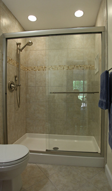 Small bathroom ideas traditional bathroom dc metro Classic bathroom tile ideas