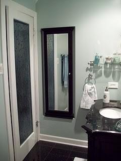 Small Bathroom Makeover - Spa Blue