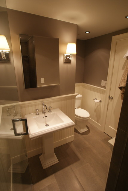 Small Bathroom - Contemporary - Bathroom - Boston - by ... on Modern Small Bathrooms  id=55699