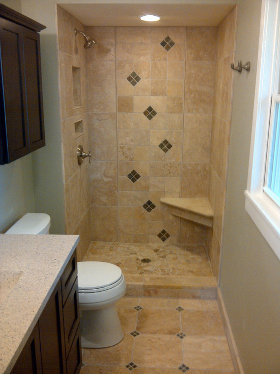 Brookfield small bathroom remodel for Small bath ideas