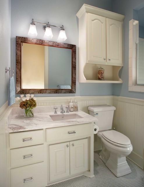 Small bathroom remodel - Traditional - Bathroom - Dallas ...