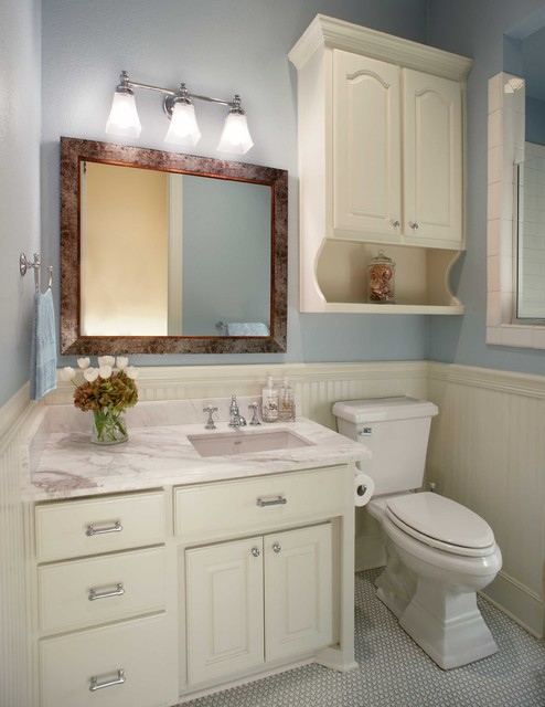 Small bathroom remodel for Small bathroom makeover ideas