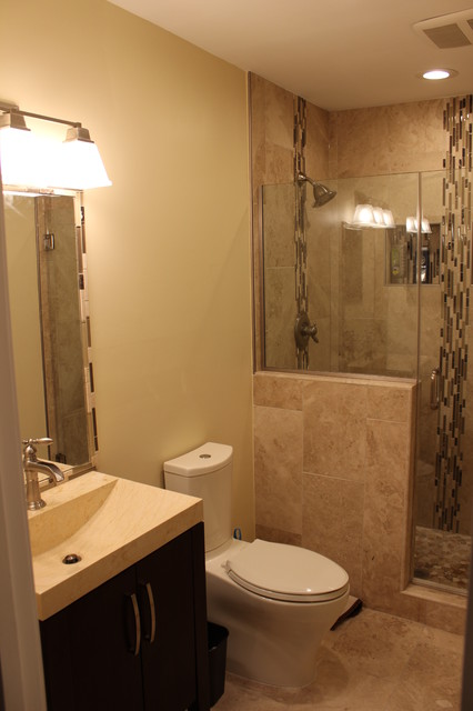 small bathroom remodeling 2014 alexandria va transitional bathroom