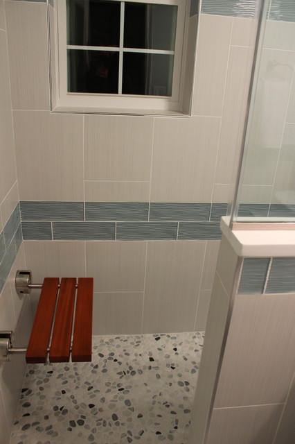 Small bathroom renovation 2014 arlington va contemporary bathroom dc metro by solid Bathroom remodeling arlington va
