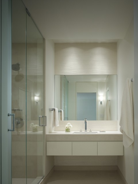 Small Bathroom Modern Bathroom Chicago By Robbins