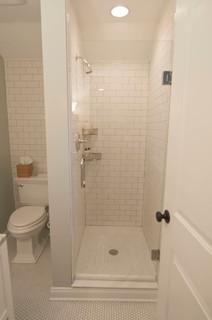 Small Bathroom - Traditional - Bathroom - philadelphia - by Samantha Kreindler