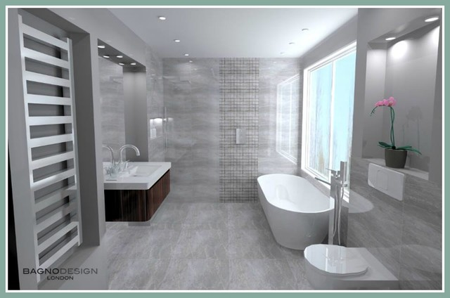 Small Bathroom Space Contemporary Bathroom Glasgow By Bagno Design Scotland