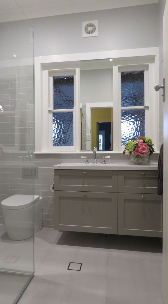 Small Bathroom Transformation - Traditional - Bathroom ...