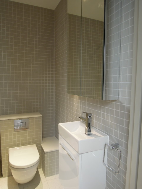 Small bathrooms - modern - bathroom - london - by Slightly Quirky Ltd