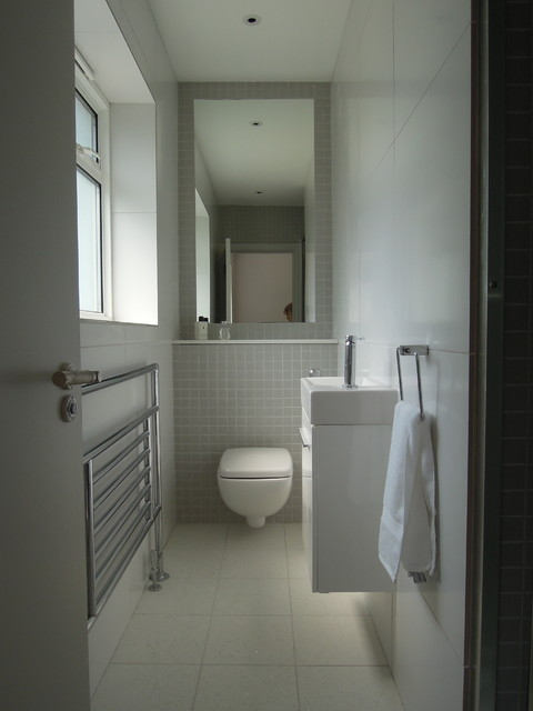 Small bathrooms - Modern - Bathroom - London - by Slightly ... on Modern Small Bathrooms  id=69134