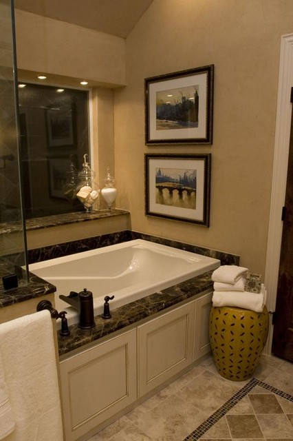 Small But Quaint Master Bath Traditional Bathroom
