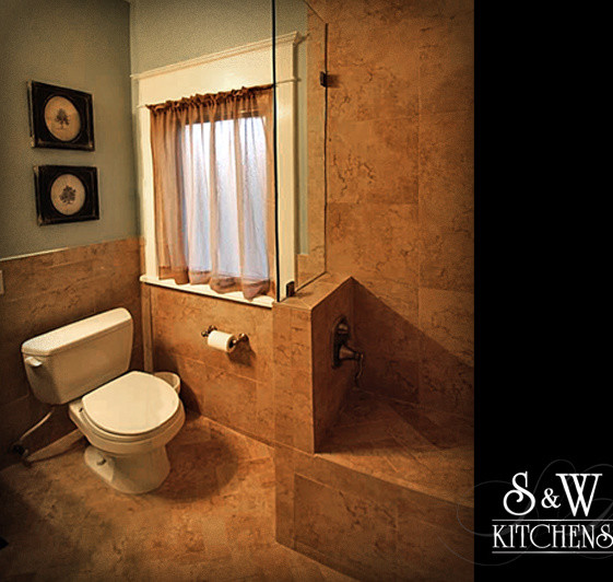 small but splendid master bath traditional bathroom orlando by