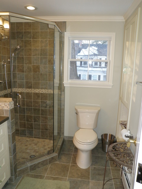 Small condo bathroom traditional bathroom manchester for 7x8 bathroom ideas