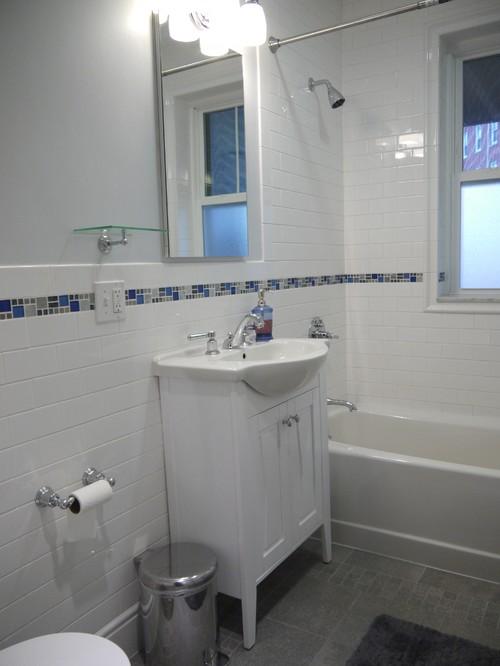 Shallow Bathroom Sink