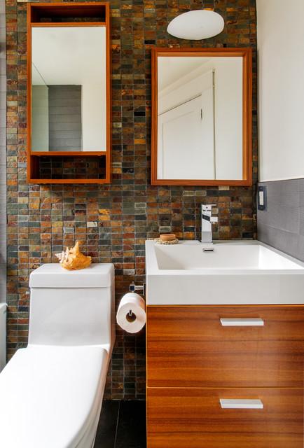 Small Family Bathroom - Contemporary - Bathroom - toronto ...