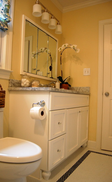 Traditional guest bathroom for Houzz bathrooms traditional