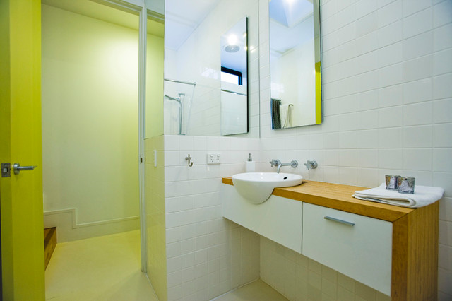 Small haven north melbourne home Small bathroom design melbourne
