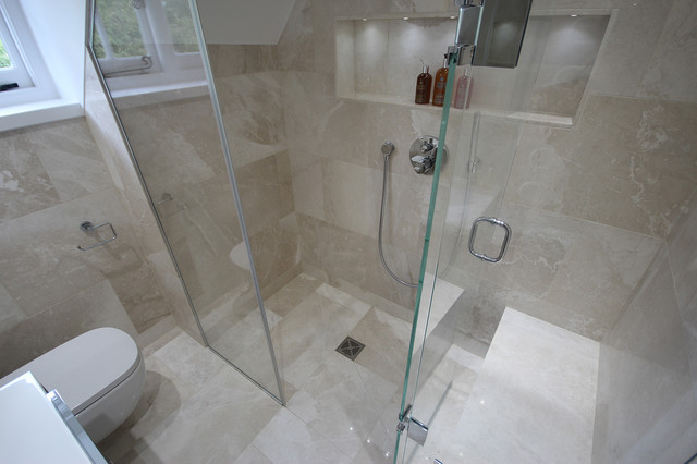 Small Luxury Shower Room   Contemporary   Bathroom   south east   by
